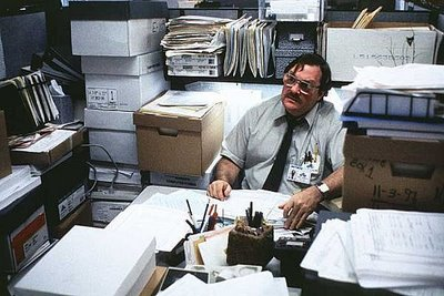 Office Space Movie Milton in Basement